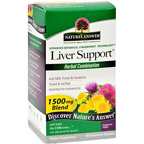 Natures Answer Liver - Nature's Answer Liver Support, 90-Count by Nature's Answer