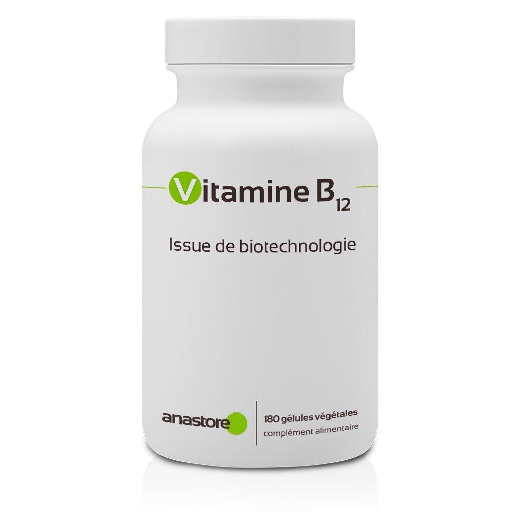 VITAMINA B12 * 1000 μg / 180 cápsulas * Energia (fatiga) * Garantía de satisfacción o reembolso * Fabricado en Francia: Amazon.es: Salud y cuidado personal