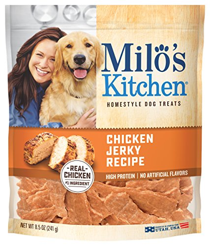 Milo's Kitchen Chicken Jerky Dog Treats, 8.5 oz. - Fda Chicken Jerky