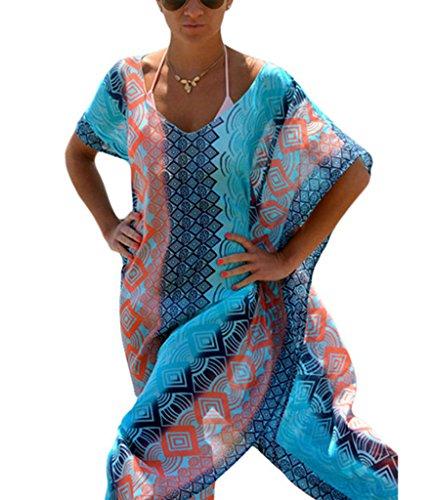Akery Womens Chiffon Swimsuit Bikini product image