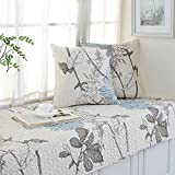 YU&AN Sofa slipcover,Fashion Slip Sofa Cover,Towel Sets,Fabric Sofa Cushioning,Cotton,for Cushions Bay Window Cushion,Sill pad-B 70x210cm(28x83inch)