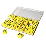 Educational Insights Alphabet Rubber Stamps Jumbo - Uppercase 1''