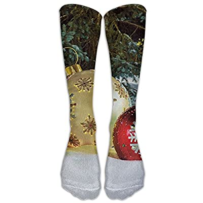 Christmas Unisex Massive Fiber-Optic LED Outdoor Christmas Ornaments - The Knee High Winter Socks Not 3D Print Long Sports Stockings