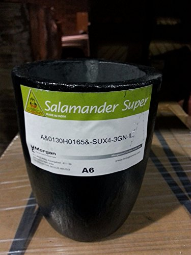 Fuel Polishing System - SALAMANDER A-6 SUPER CLAY GRAPHITE MORGAN MELTING CRUCIBLE FOR BRASS GOLD SILVER (LZ 4.12 M BOX) NOVELTOOLS
