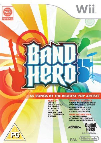 Band Hero - Game Only (Wii) (Band Wii Ultimate)