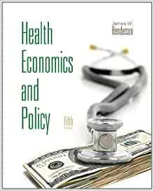 Health Economics by Jay Bhattacharya