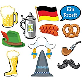 Oktoberfest Photo Booth Prop Kit