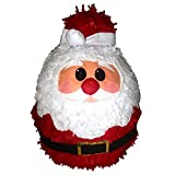 Santa Claus Pinata, 18'' Christmas Decoration, Party Game and Photo Prop