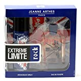 Extreme Limite Rock by Jeanne Arthes is passionate and energetic. The notes that make up this cologne are fern, artemesia, lavender,cumin,vanilla, sandalwood and musk, Extreme Limite Rock is for men who like to like a high throttle lifestyle....