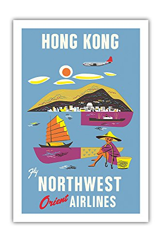 hong-kong-fragrant-harbour-northwest-orient-airlines-vintage-airline-travel-poster-c1952-premium-290