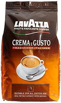 Lavazza Crema e Gusto Tradizione Italiana Whole Beans 1kg