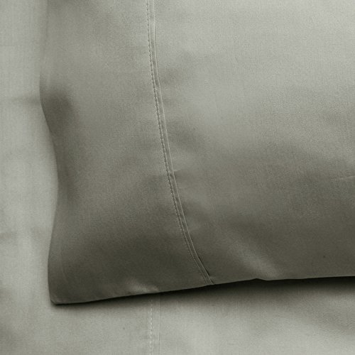 Chateau Home Collection Pima Cotton Solid 350 Thread Count Queen (Chateau Queen)