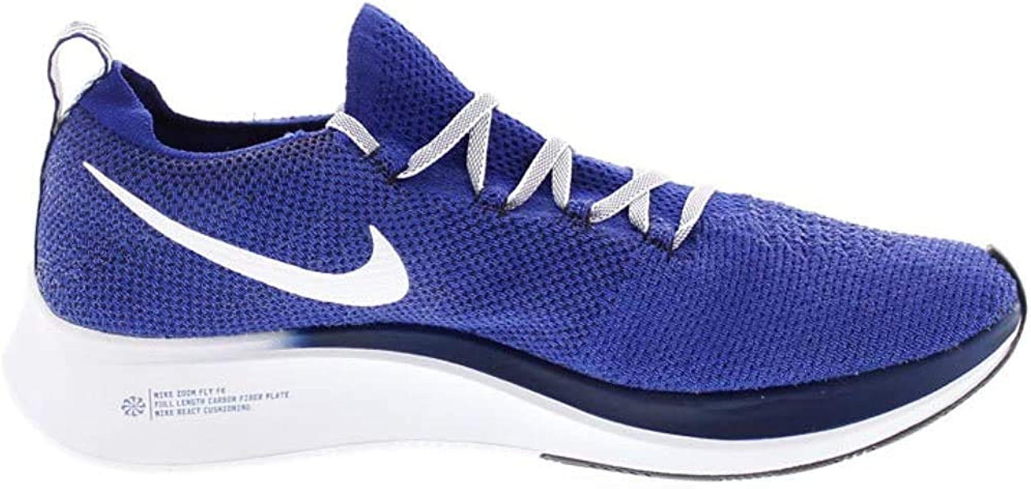 Nike Zoom Fly FK, Zapatillas de Running para Hombre, Azul, Blanco ...
