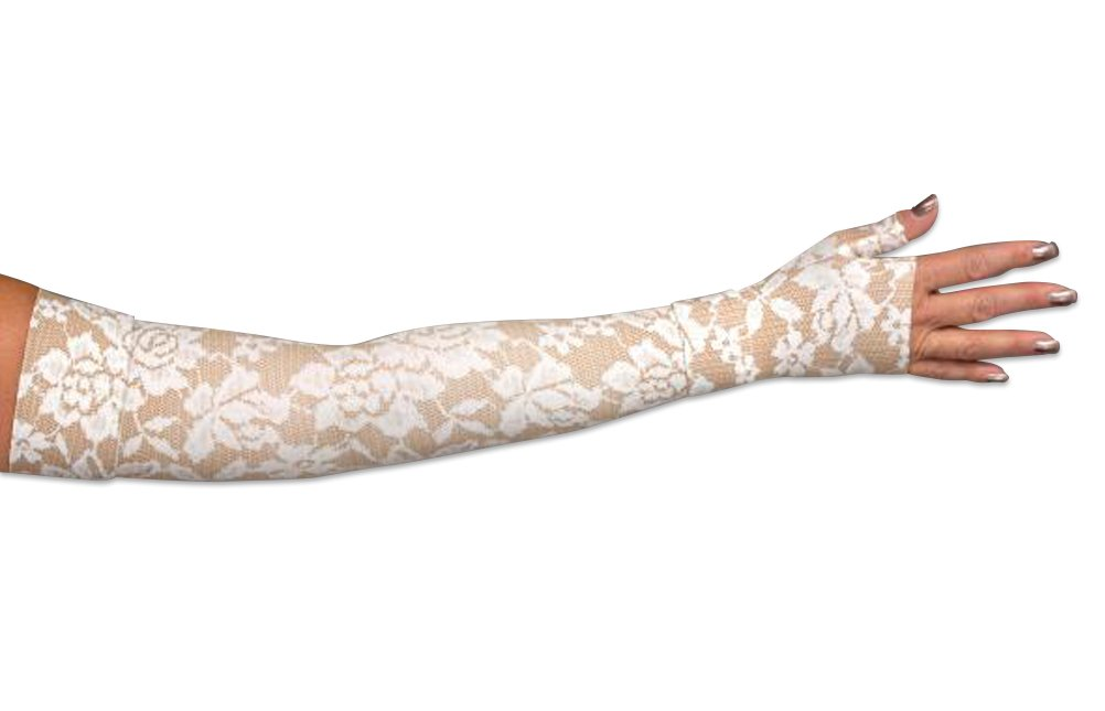 Lymphediva Darling- Tan Compression Armsleeve 30-40 mmHg Medium