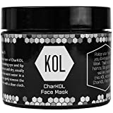 Cheap Organic Charcoal Face Mask by KOL KARE | Ultra Premium 3.6 Ounce Jar | For Deep Cleansing and Exfoliation, Pore Minimizer, Reduces Wrinkles, Acne Face Mask, Oily Skin, Ingrown Hair Treatment, Luxury
