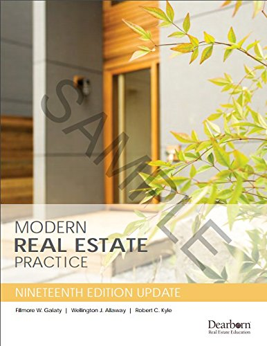 Modern Real Estate Practice,Update