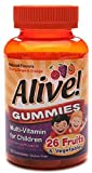 Alive Multi-Vitamin Gummies for Children 60 Each (Pack of 3)