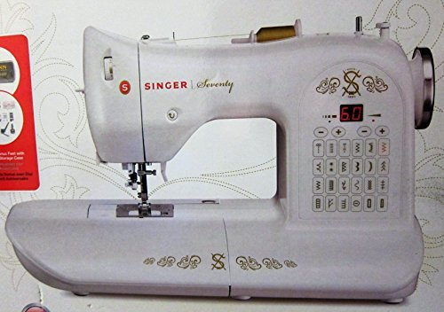 Singer Seventy 70th Anniversary Sewing Machine (Singer One 24 Stitch compare prices)