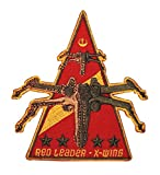 iron on patch star wars - X-Wing Red Leader Rogue Squadron Rebel Emblem Star Wars Embroidered IronOn Patch