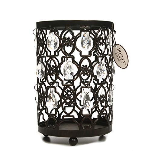 Unusual Candle Holders - Hosley Tea Light/Votive Candle Holder Romantic Sparkle Lantern 7.8