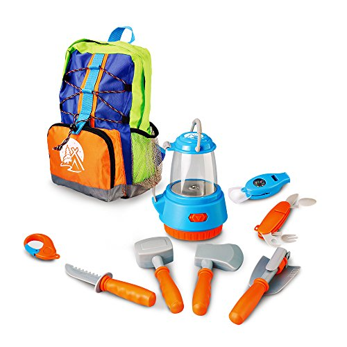 SainSmart-Jr-Pretend-Camping-Toys-Survival-Gear-Kit-with-Large-Camping-Bag-Outdoor-Cookware-Camping-Hiking-Gear-Play-Set-for-ages-3-and-up