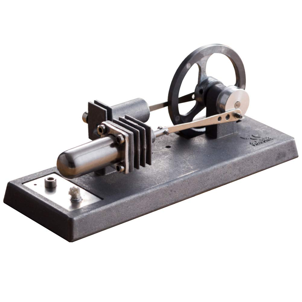 At27clekca QX6 DIY Assembly Low Temperature Stirling Engine Hot Power Generator Steam Heat Education Motor Physical Model Toy Kit by At27clekca (Image #2)