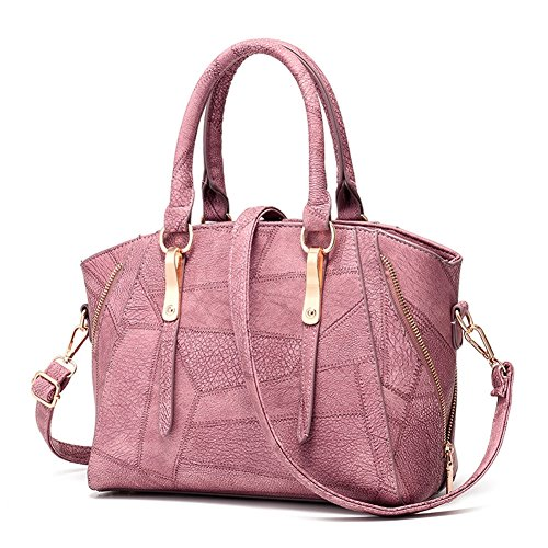 Sealline Urban Shoulder Bag (Mikty Women's Casual Purse Fashion Leather Shoulder Bags Handbags Tote Bags Pink)
