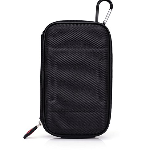 NuVur Portable Carry Case(HardShell) in BLACK NYLON//RAVPower 3rd Gen Deluxe (Deluxe Black Hardshell)