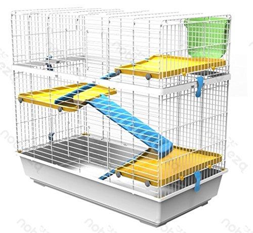 FORPET® 001163 - Jaula para conejos con accesorios, comedero y ...