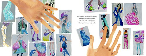 Polka Dot Parade: A Book About Bill Cunningham by little bee books (Image #4)