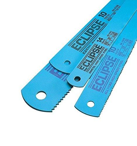 Hard Saws - Eclipse AE45B/10 All Hard High Speed Steel Hacksaw Blade, 12