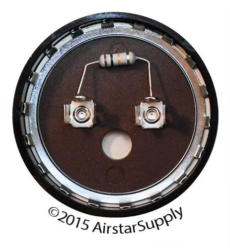 USA MADE Replacement for Trane CPT00091 Start Capacitor 135-162 uF, 330 VAC with Resistor