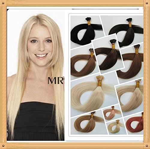 "Remeehi AAA 30 Strands 0.5g/s 22"" 100% Human Hair Extensions Fushion I Stick Tip Real Hair Straight 24# -  StickTip003-4"