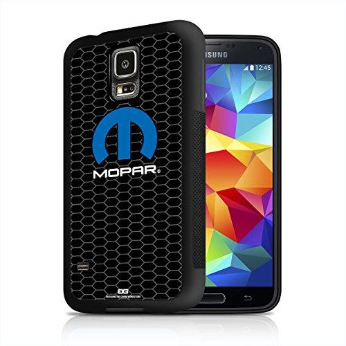 Mopar Honeycomb Grille Samsung Galaxy S5 Black TPU Rubber Phone Case