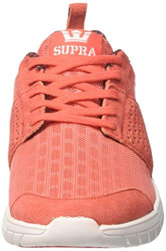 Arancio Supra Scissor Sneaker white coral Donna grtrwO