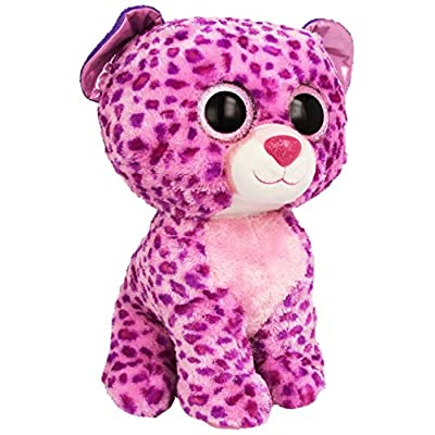 Ty Beanie Boos Buddies Glamour Pink Leopard Large Plush: Toys & Games
