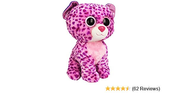 105e16b99d4 Amazon.com  Ty Beanie Boos Buddies Glamour Pink Leopard Large Plush  Toys    Games