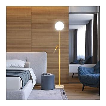 HARDY-YI Lámpara de pie Dormitorio Art déco Luz de la ...