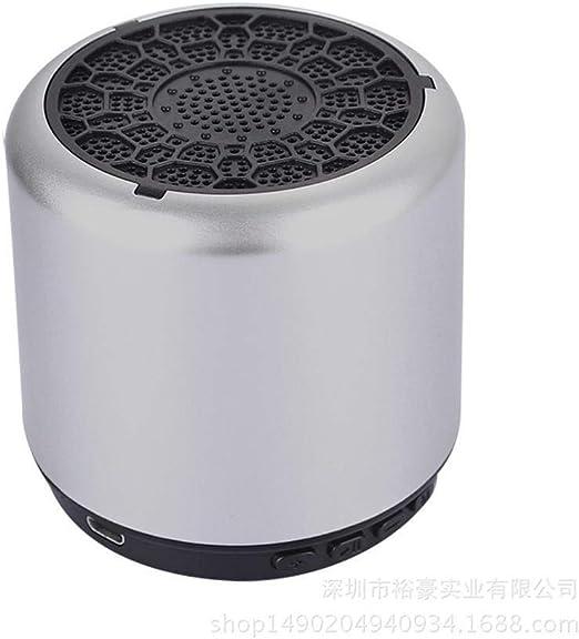 Lnyy Pequeña Tarjeta al Aire Libre Bluetooth Altavoz Altavoz inalámbrico portátil audioφ67.4 * 61 mm: Amazon.es: Jardín