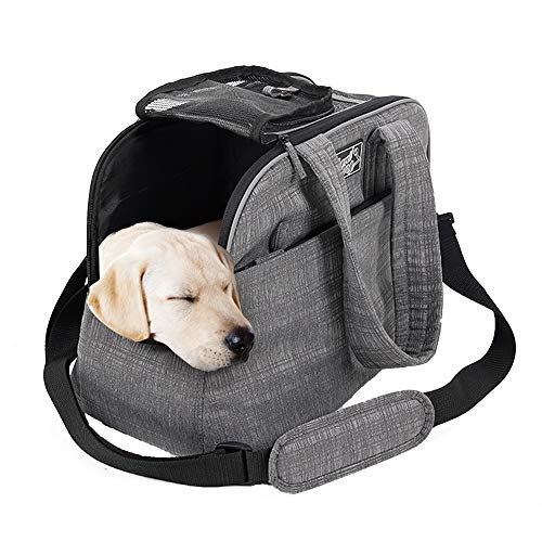 ALL FOR PAWS Pet Travel Carriers Portable Travel Bag for Puppy Cats and Small Pets Airline Approved
