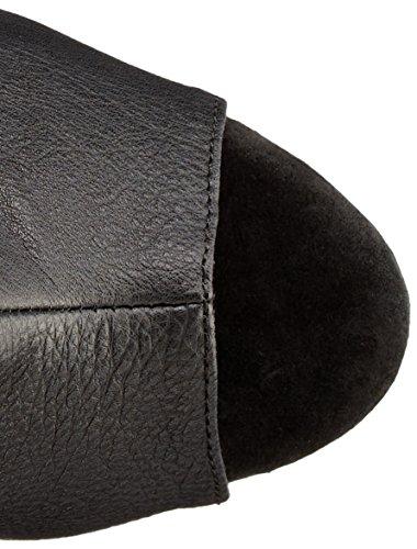 Pleaser DELIGHT-2019-3 Damen Plateau Stiefel Blk Faux Leather/Blk Matte