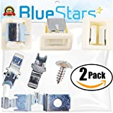 kenmore door latch kit - Ultra Durable 279570 Dryer Door Latch Strike Kit by Blue Stars - Exact Fit for Kenmore Whirlpool KitchenAid dryers - Replaces AP3094183, PS334230, 279570 - PACK OF 2