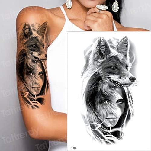 tzxdbh Nuevo Maquillaje Falso Tatuajes temporales Pegatinas Chica ...