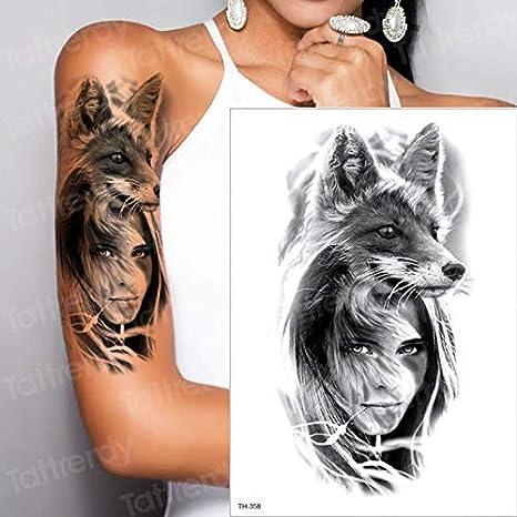 tzxdbh Nuevo Maquillaje Fake Temporal Tatuajes Pegatinas Chica ...
