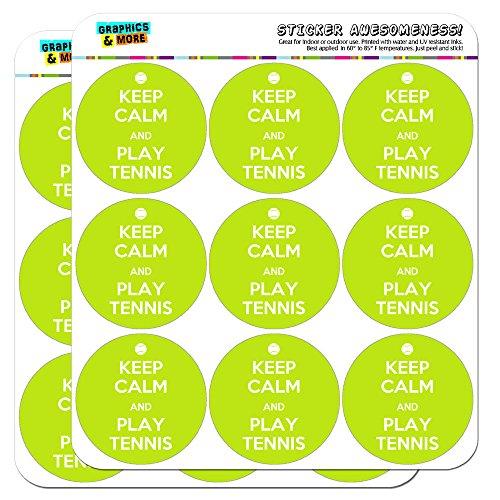 (Keep Calm And Play Tennis Sports 2