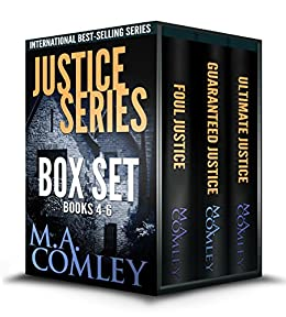 Justice Series Box Set Books 4 - 6 by [Comley, M. A.]