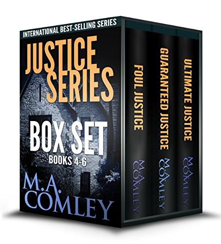 Justice Series Box Set Books 4 - 6 cover