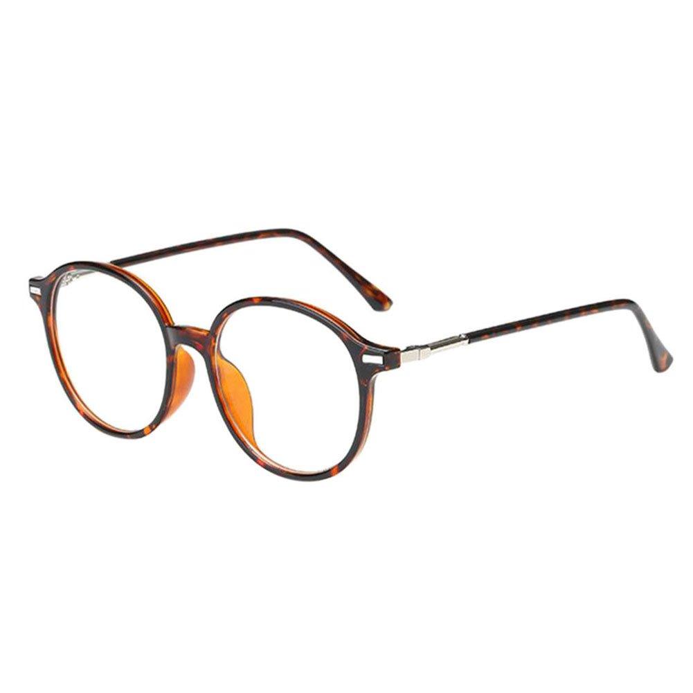 Hzjundasi Runden Rahmen Kurzsicht Brillen Kurzsichtig ...