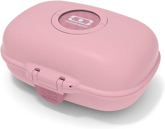 monbento - MB gram Rosa Blush Caja merienda para niños - sin BPA - Segura y Duradera: Amazon.es: Deportes y aire libre