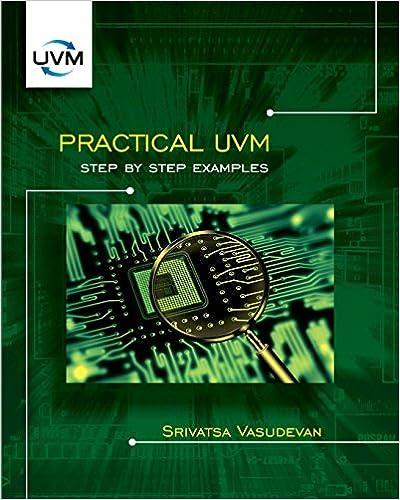 Book Practical UVM by Srivatsa Vasudevan (2016-07-15)